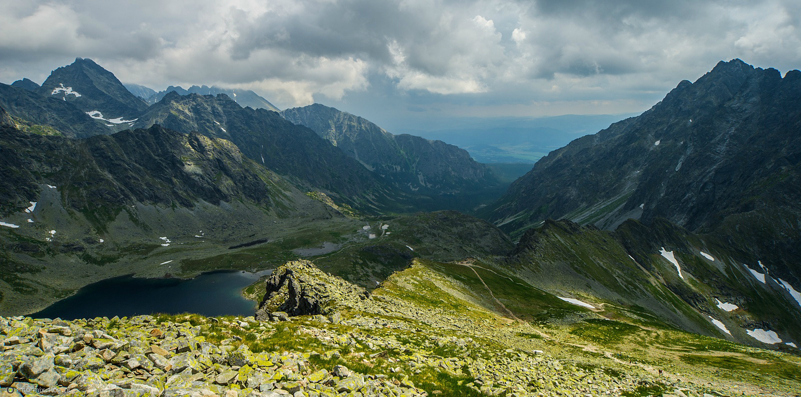 Dolina Mięguszowiecka - Tatry Wysokie - Słowacja