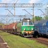 ET22-1027 :: 9.08.2014   ET22-1027 spó<br />łki PKP Cargo ze składem <br />cystern wjeżdża do Rybnik<br />a od strony Żor