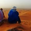 W oczekiwaniu na zachód s<br />łońca na pustyni :: Miłego oraz pogodnego dni<br />a dla miłych gości